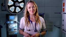 """""""Las enfermeras son el alma del hospital"""": Erika de la Rosa habla de Médicos Línea de Vida"""