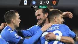 Napoli sigue soñando con los puestos europeos