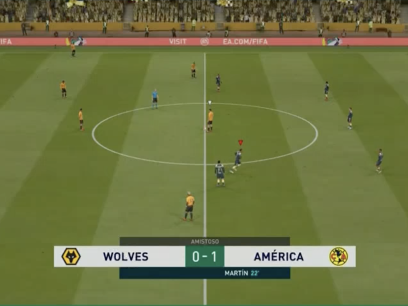 eAmistosos, Wolves vs América, 6.png
