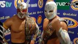 Místico y Carístico, la mejor pareja del CMLL