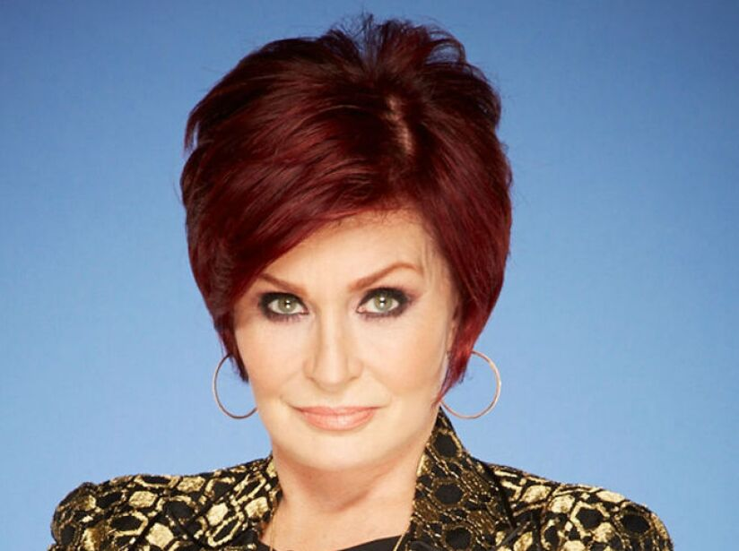 7. Sharon Osbourne: La conductora se presentó borracha en un programa de la tele británica.