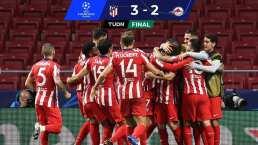 Duelo de Volteretas que gana el Atlético con HH de titular