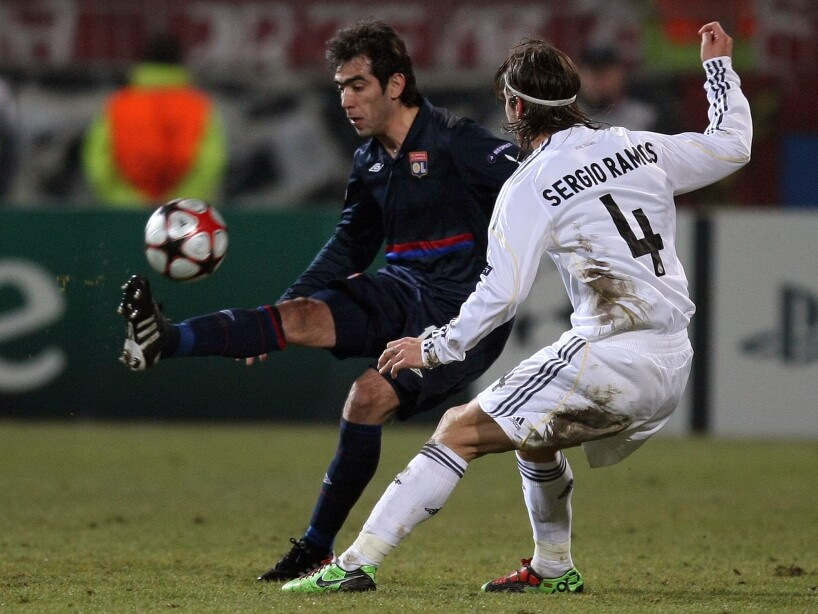Cesar Delgado, Sergio Ramos