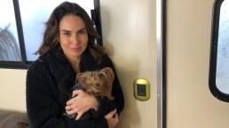 Ana Serradilla está tan feliz con su nuevo protagónico que el frío le hace los mandados