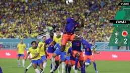 Brasil y Colombia empatan en el regreso de Neymar