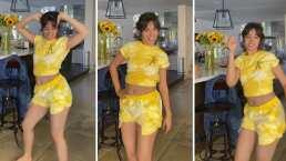 Camila Cabello enamora a sus seguidores bailando 'La bomba' de King África