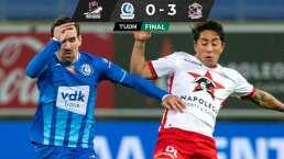 Victoria del Zulte y Omar Govea marca un gol