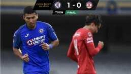 Cruz Azul clasifica al vencer 1-0 al Toluca, que queda eliminado