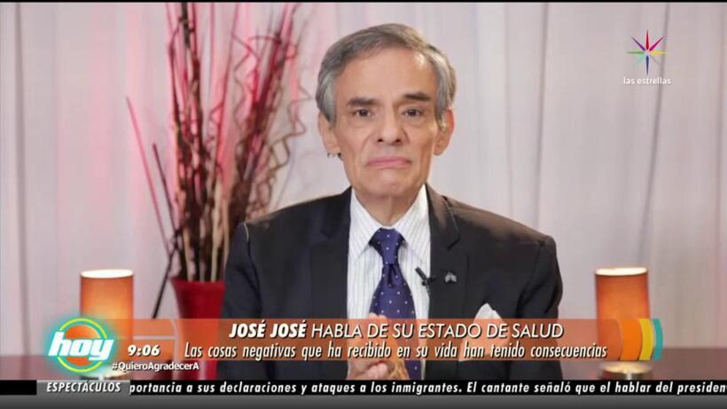 ¡José José dispuesto a salvar su vida!