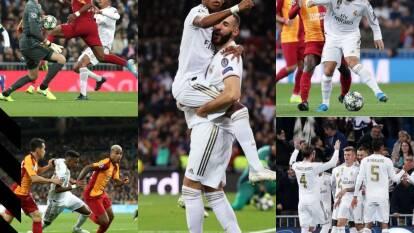 Con triplete de Rodrygo, doblete de Benzema y un gol de panenka de Ramos, el real madrid golea en el Santiago Bernabéu.