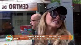 IMPERDIBLE: Marjorie de Sousa interpuso demanda contra Julián Gil