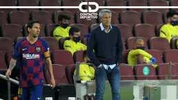 """Quique Setién sobre Messi: """"Hablamos lo que tenemos que hablar"""""""