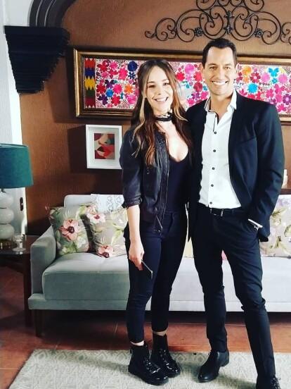 Alejandro Peniche compartió cómo fue su casting junto a Camila Sodi.
