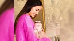 Sharon Fonseca deja ver un poco de la recámara de su bebé, Blu