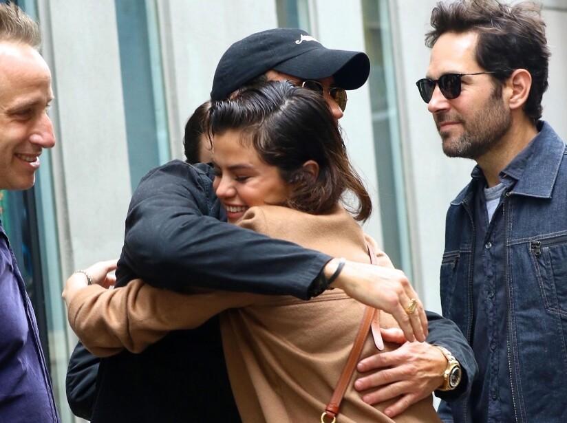 Selena Gomez y Justin Theroux, ¿de romance?