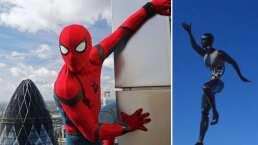 Así se ve el robot de Spider-Man que saltará entre las atracciones de Disneyland