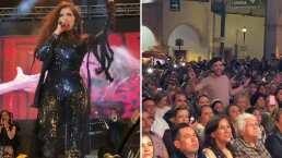 Fan se roba la atención en concierto de Ana Bárbara y ella le responde: 'te amé'