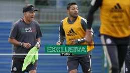Niega Marco Fabián que rotaciones de Osorio molestaran al grupo