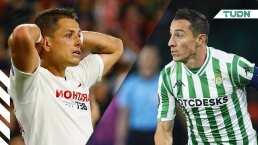 La exigencia para Guardado, Lainez y 'Chicharito' en el derbi andaluz