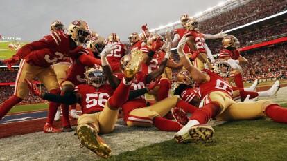 La defensiva y el ataque terrestre guían a los San Francisco 49ers a su séptimo Super Bowl.