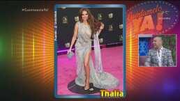 Thalía, Carlos Rivera y otros famosos: ¿Quién lo hizo bien en la alfombra magenta de 'Premio Lo Nuestro'?