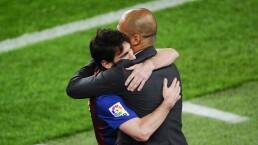Guardiola y su deseo por llevarse a Messi al City