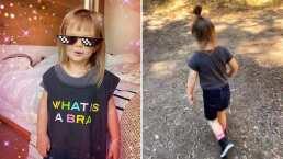 'Así no me da el sol': Kailani enamora con sus lentes de sol y su paseo por el bosque con su mamá