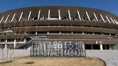 El estadio fue construido sobre el espacio que anteriormente ocupaba el estadio olímpico que se usó para los Juegos Olímpicos de 1964. El estadio será sede de las ceremonias de inauguración y clausura de los Juegos Olímpicos, así como del atletismo, que darán inicio el próximo 24 de julio.