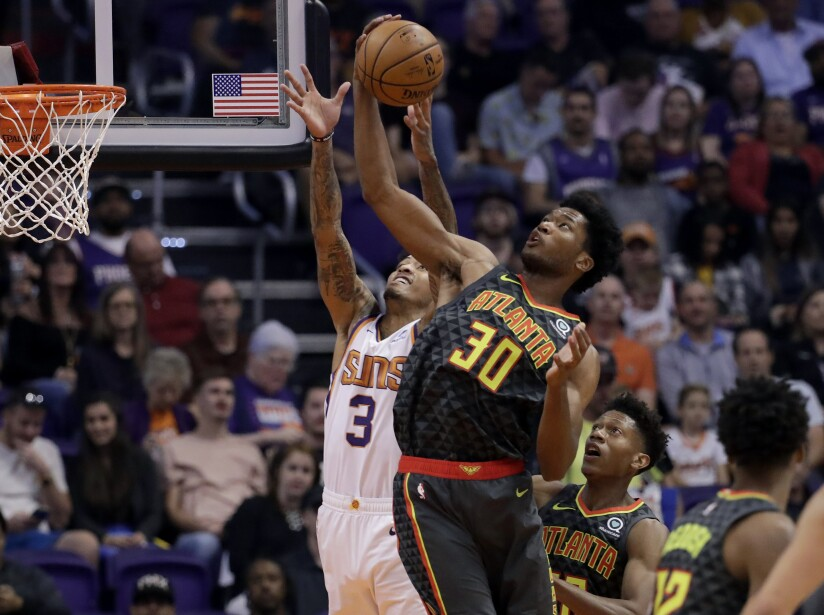 Hawks Suns Basketball