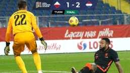 Países Bajos vence a Polonia en nueve minutos pero se va a casa