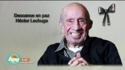 Último adiós a un grande de la comedia: Héctor Lechuga