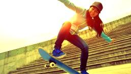 ¡Fortalece piernas y gluteos con skateboarding!