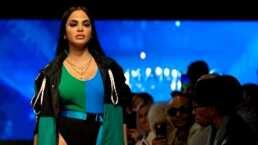 Natti Natasha presume en redes sociales su debut como modelo