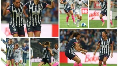 Monterrey 1-0 Atlas. Diana Laura Evangelista le da el triunfo a las Rayadas para seguir en la lucha por el campeonato.