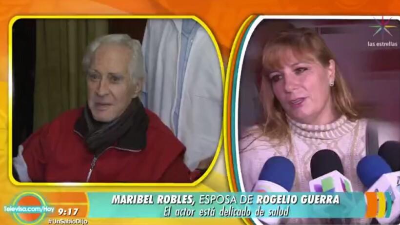 ¡Rogelio Guerra continúa delicado de salud!