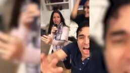 Eugenio Derbez y Alessandra Rosaldo recuerdan a Sentidos Opuestos en un divertido karaoke