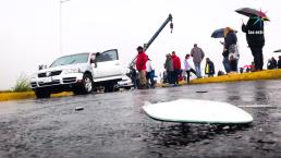 Detrás de cámaras: El accidente de Marisa
