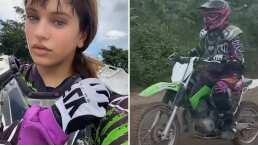 Video: Rosalía presume que también le entra al Motocross