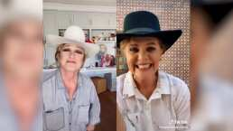 "Erika Buenfil y Angélica María cantan ""Me gusta estar contigo"" en TikTok"