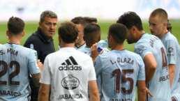 El Celta corre al entrenador de Araujo en LaLiga