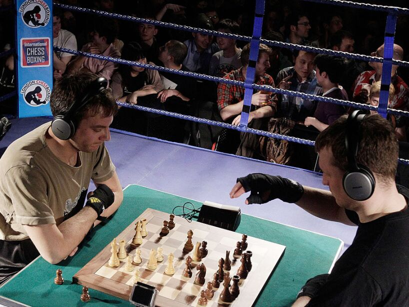 International Chessboxing Tournament At The Scala