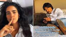 '¿Con quién hablas?' Bárbara de Regil le hace broma a su esposo y cae rodondito