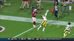 ¡Se acercan! Johnson pone a los Cardinals a nada de los Steelers