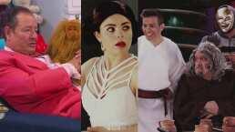 """Sammy cuenta la historia de """"Star Warros"""" con Lucas, Chido One y la Princesa Lela"""