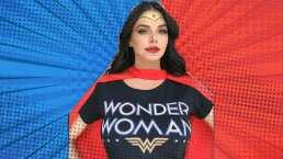 Maravilla de Mujer: Livia Brito se disfrazó como Wonder Woman