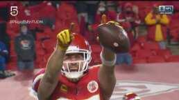 ¿La sentencia? Kelce anota y los Chiefs ya ganan 15-38