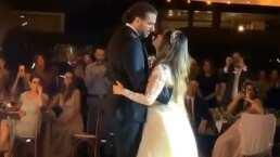 Dulce María y Francisco Álvarez: Así fue su primer baile como marido y mujer
