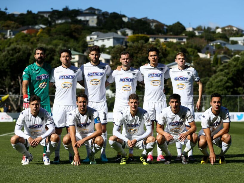 Champions League - Team Wellington v Auckland City