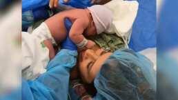 Video: Así fue el primer encuentro entre Hanna de Ha*Ash y su bebé, Mathilda