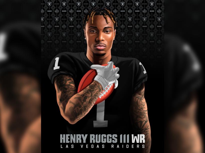 Henry Ruggs III, NFL Draft, 1.png